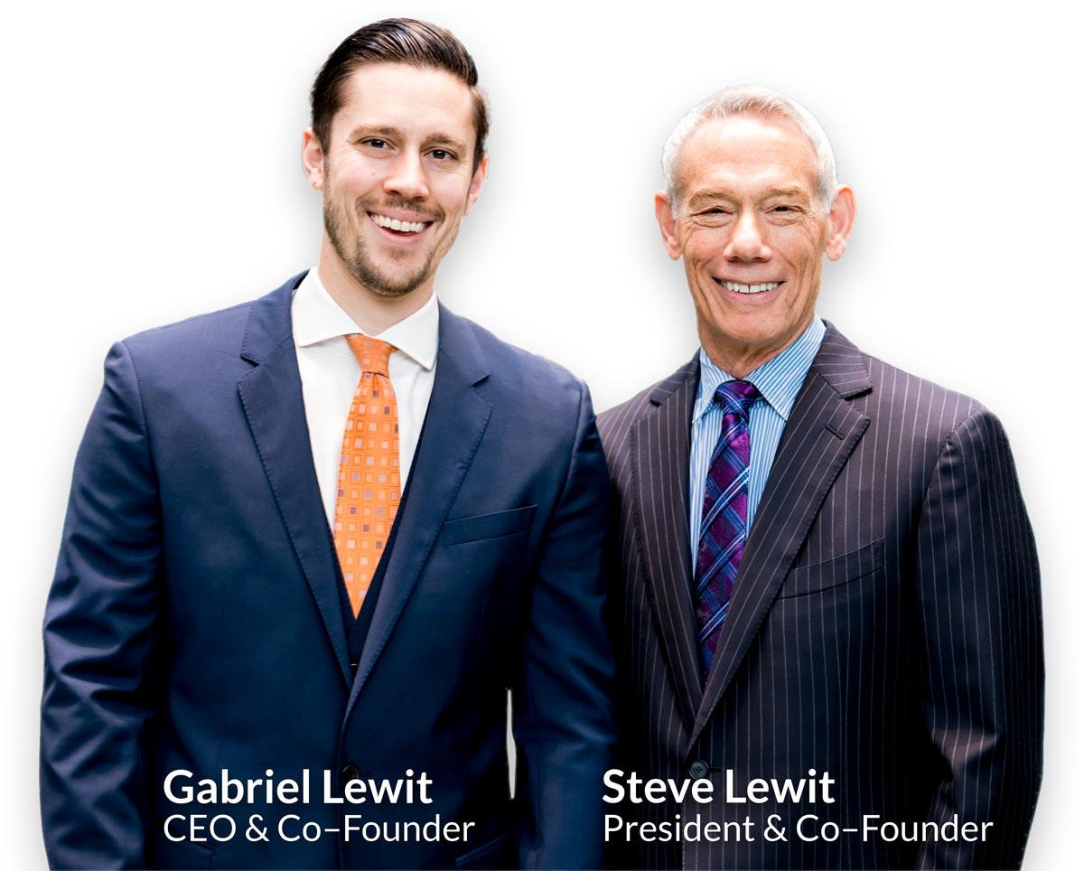 Steve and Gabriel Lewit